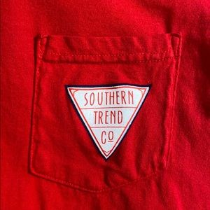 Comfort Colors Shirts - Southern Trend Pocket Tee